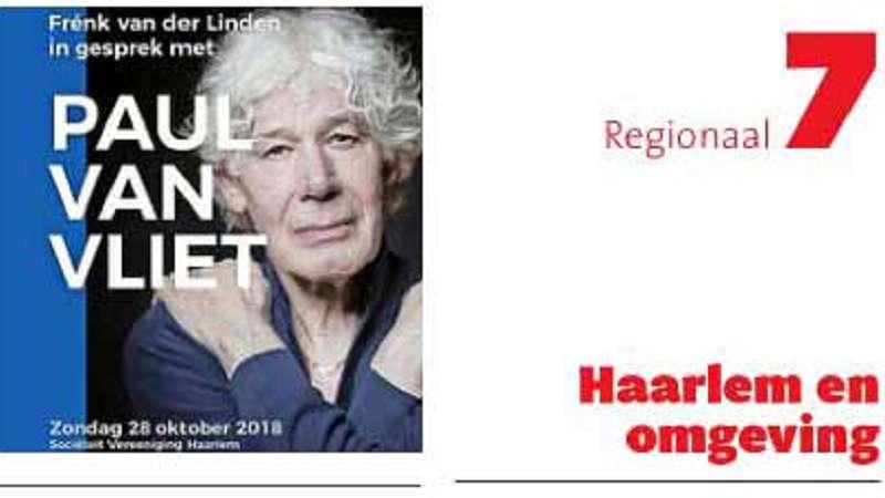 van der Linden in gesprek met Van Vliet