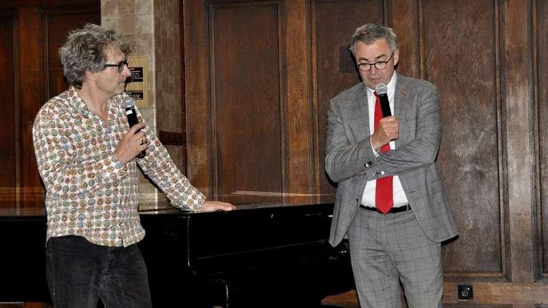 foto impressie Geschiedenistafel: Burgemeester Jos Wienen