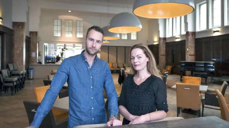 Haarlems Dagblad over Humanistisch cafe in onze Societeit