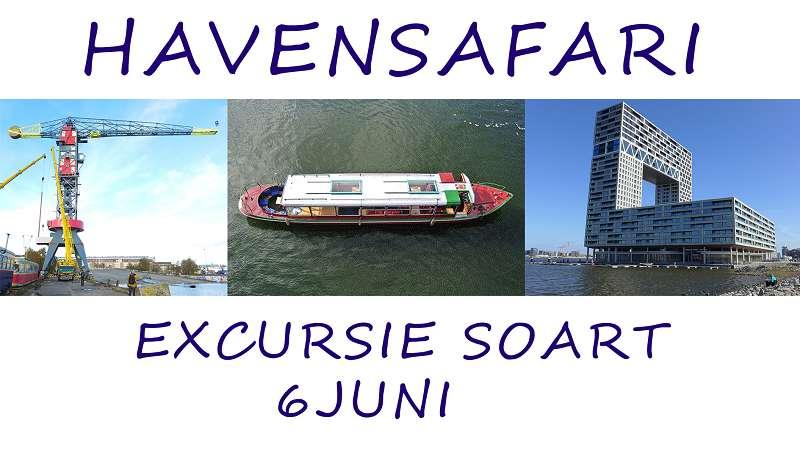 Nog 2 plaatsen beschikbaar voor Havensafari