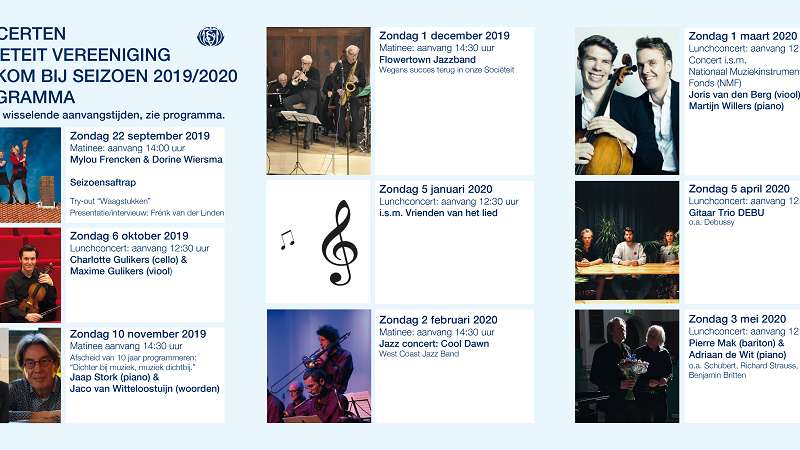 Programma Muziek 2019/20